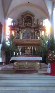 Altar Stadtpfarrkirche Grieskirchen