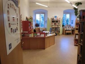 Blick in die Bibliothek Garsten