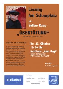 Volker Raus Uebertoetung