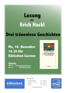Lesung Erich Hackl