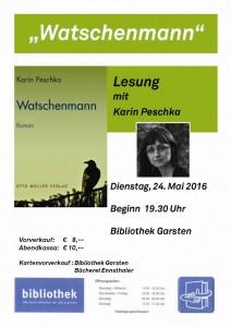 Lesung Karin Peschka Watschenmann