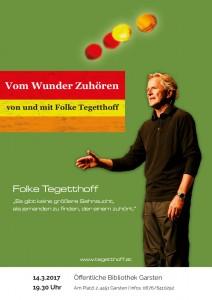 Folke Tegetthoff: Vom Wunder Zuhören
